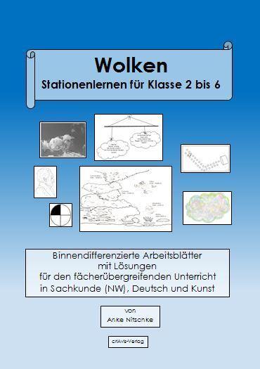 Wolken. Stationenlernen für Klasse 2 bis 6 - Download - criAvis-Verlag