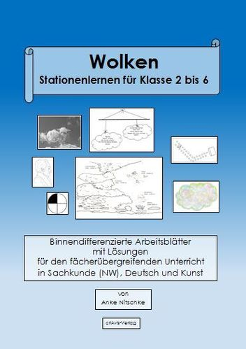 Wolken. Stationenlernen für Klasse 2 bis 6 - Download