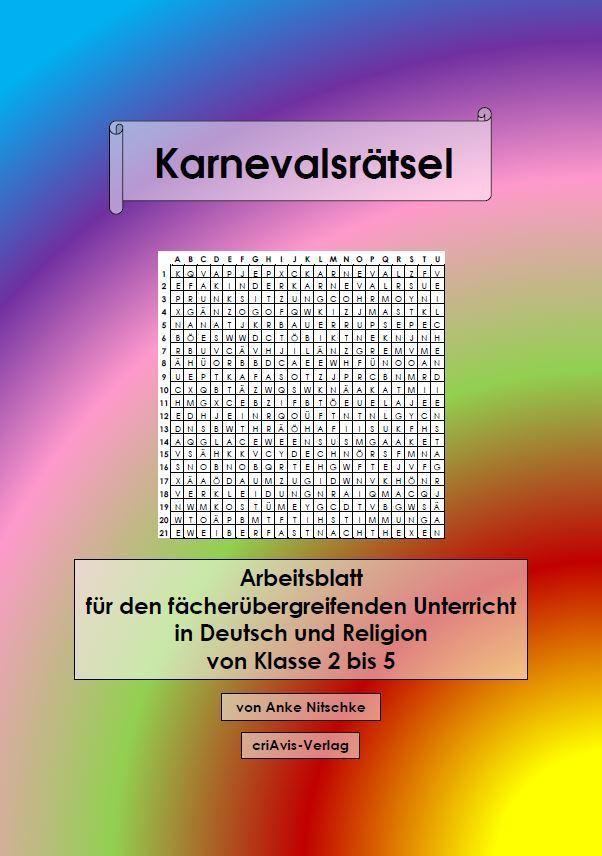 Karnevalsrätsel - criAvis-Verlag