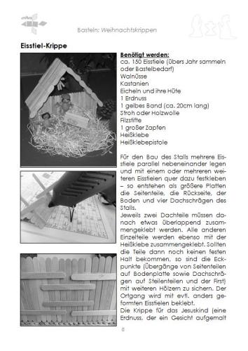 weihnachtskrippen selber basteln buch criavis verlag. Black Bedroom Furniture Sets. Home Design Ideas