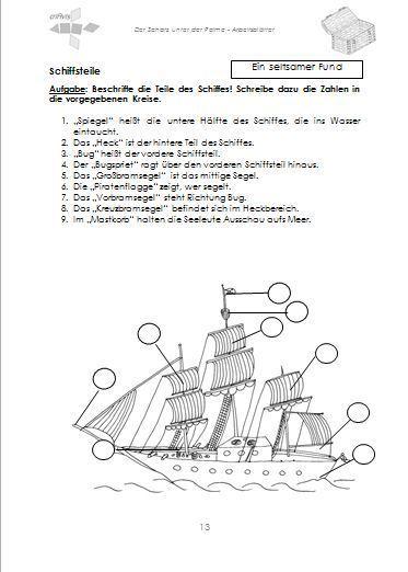 Der Schatz unter der Palme. Lehrerbegleitheft-Buch - criAvis-Verlag