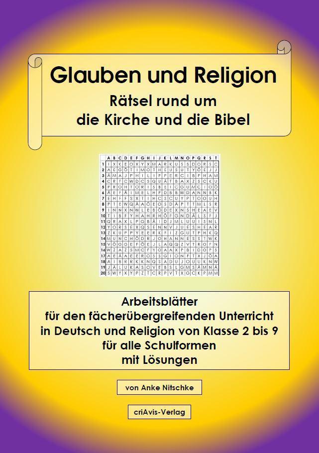 glauben und religion r tsel rund um die kirche und die bibel buch criavis verlag. Black Bedroom Furniture Sets. Home Design Ideas